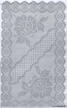 Sheme By Azra 53 – Heklanje Crochet Patterns Filet, Doily Patterns, Crochet Motif, Crochet Designs, Crochet Doilies, Crochet Diagram, Beading Patterns Free, Crochet Table Runner, Crochet Tablecloth