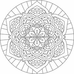 Mandala Coloring Pages Adult Coloring Book Pages, Mandala Coloring Pages, Christmas Coloring Pages, Colouring Pages, Coloring Books, Mandala Painting, Mandala Art, Trippy Drawings, Christmas Colors