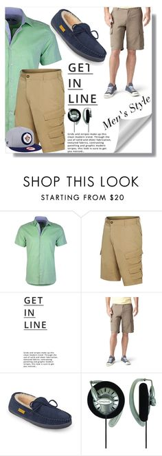 men's shorts for spring by wulanhasibuan on Polyvore featuring Stone Rose, Dockers, Dakine, Brumby, New Era, Lipsy, men's fashion and menswear