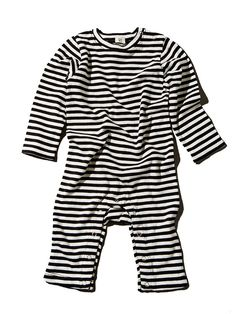 With a classic black and white stripe, this light weight, long sleeve romper is perfect for any baby. Fit: True to size. Sleeves are full length, legs are cropped a bit. Organic Baby Clothes, Unisex Baby Clothes, Striped Jersey, Long Sleeve Romper, Baby Boutique, Goat Milk, Organic Cotton, New Baby Products, Rompers