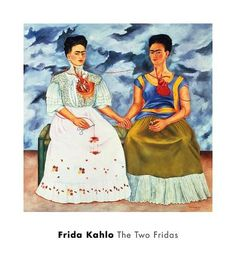 The Two Fridas,, c.1939 Art Print by Frida Kahlo at Art.com