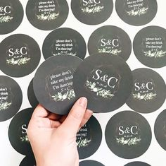 customer wedding drink coasters So Much Love, My Love, Wedding Coasters, Paper Companies, Black White Gold, Invitation Suite, Drink Coasters, Wedding Season, Wedding Invitations