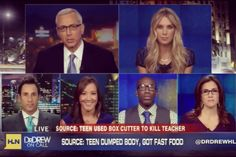 Right before our heated debate on HLN's Dr. Drew on Call.
