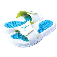girl jordan slides | NIKE JORDAN HYDRO 3 (GS) BIG KIDS 315291-171 Girls Sandals Slides ...