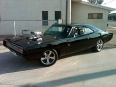 Vin Diesel Car used on Fast and Furious Movie a1968 Dodge CHARGER R/T
