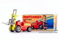 Matchbox Superfast Fork Lift Truck #Matchbox #Vintage
