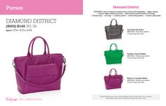 *NEW* Diamond District Purse $148 Fall / Winter 2015. Thirty One Gifts!