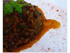 Ricetta Portata principale : Riso thay rosso con zucca e cicoria da Ginger79