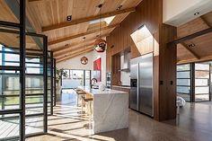 Architektur: Moderne trifft Geschichte in coolem Bungalow-Hybrid