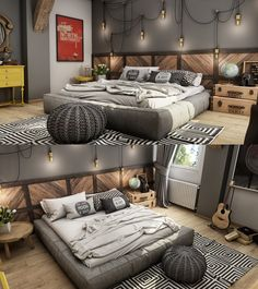 Roohome.com- When you relax and release your fatigue, a definite place you go is the bedroom. The bedroom is the room where you can relax, especially if your bedroom has its own uniqueness. Especially teenagers definitely reaching out for the bedroom according to what they want. Therefore, teenage bedroom design ...