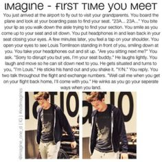 This is one of my favorite Louis imagine Louis Tomlinson Imagines, Louis Imagines, 1d Imagines, One Direction Images, I Love One Direction, Direction Quotes, 1d Day, Celebrity Travel, Celebrity News