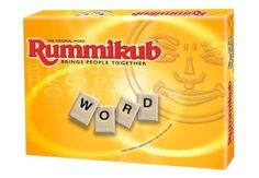 Word Rummikub with Free Shipping