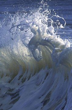"""""""The wave does not need to die to become water. She is already water."""" — Thích Nhất Hạnh"""