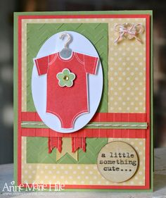 Stampin' Anne: Something for Baby for Paper Players #195