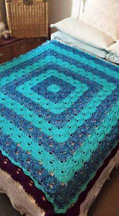 Virus Blanket Crochet - Blankets, Afghans and Throws Pinterest ...