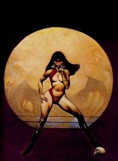 Vintage Vampirella Frank Frazetta