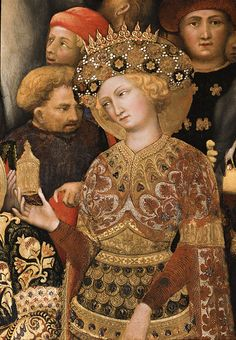Detail from Gentile da Fabriano's 'Adoration of the Magi' (1423)