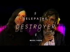 "Telepathe - ""Destroyer"" (Official Music Video).  Moving from improvisational drones to experimental, danceable pop in just a few releases, Telepathe are the project of Busy Gangnes and Melissa Livaudais and a rotating cast of supporting musicians. (all music)"