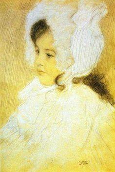 Klimt: Portrait of a Girl, 1902