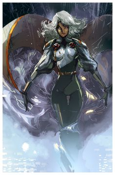 Storm by Peter Nguyen This chick is a total bada**. She's always been my favorite X-Man.