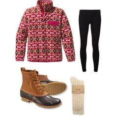 chilly dayys, created by southprep on Polyvore