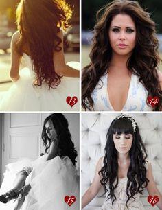 wild wedding hair