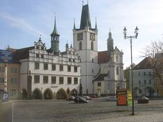 Litomerice main square European Countries, Czech Republic, Prague, Barcelona Cathedral, Places Ive Been, Maine, Bob, Mansions, Country