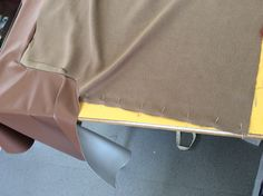 Step 26: pin and sew the sides seams together.