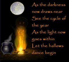 I want this on a sign- for Samhain.