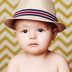 Jake Linen Poppy Boys Fedora Hat