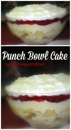 Cooking with K - Southern Kitchen Happenings: Super Bowl Cake aka Punch Bowl Cake, {Granny's Recipe}