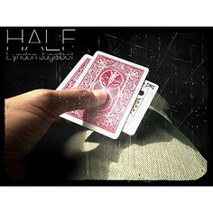 HALF by Lyndon Jugalbot - HALF is Lyndon Jugalbot's take from the classic warped card and brought it into a whole new level, where you don't need to fold the card in half but rather perform the effect openly and still the card warped. Fully examinable Auto reset No fold No Tear Very easy to do Any signed card Gimmick can be customized can be applied in Bills (shown in the video)This get it here: http://www.wizardhq.com/servlet/the-15907/half-by-lyndon-jugalbot/Detail?source=pintrest