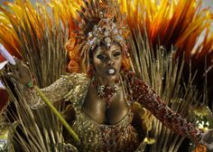 Carnival at the Sambadrome in Rio de Janeiro on February 20, 2012