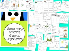The Science Penguin: Science Graphic Organizers