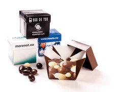 Chocolate Almonds http://www.connex.no/godterier.html