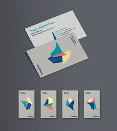 4subsea identity by Hans Christian Øren, via Behance