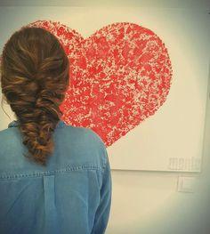 Trenzas que enamoran para días de enamorados #sanvalentin #love #zaragoza #glamteam