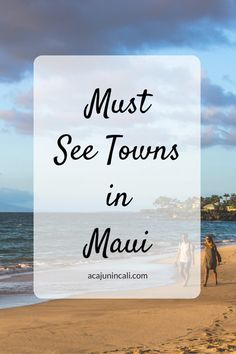 Must See Maui: Where to Go on the Island Maui Towns Worth Visiting: Where To Go On The Island. Trip To Maui, Hawaii Vacation, Maui Hawaii, Vacation Trips, Vacation Spots, Vacation Ideas, Honeymoon Spots, Vacation Places, Hawaii Travel Guide