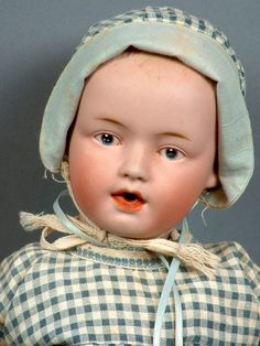 "*One and Only* 13"" Gebruder Heubach 7770 Nursing Character Baby- Rarest of the Rare!"