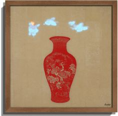 by Liu Dao | Chinese papercut | Led Art | Paper Collage | Teakwood frame | Limited Edition | Chinese Ceramic | Neo Art | Shop artwork online | Art Collector | Chinese Contemporary Art | Asian Contemporary Art