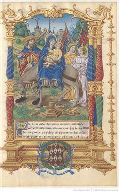 Livre d'heures d'Étienne Alleaume, seigneur de Verneuil-sur-Seine, en latin et en français Date d'édition : 1501-1600
