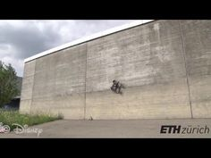 A robot vehicle that drives on walls using propellers | The Kid Should See This