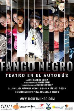 Del 22 de abril al 25 de junio los días viernes y sábados El municipio Chacao será el nuevo escenario del espectáculo Fango Negro, Teatro en el Autobús, propuesta hiperrealista del dramaturgo venezolano José Gabriel Núñez, que se llevará a escena del 22 de abril al 25 de junio en un autobús que partirá …