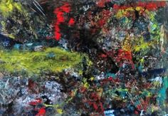 Giannis Petrou abstract expressionism