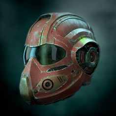 Cyborg Helmet Model available on Turbo Squid, the world's leading provider of digital models for visualization, films, television, and games. Dirt Bike Helmets, Riding Helmets, Bike Components, Custom Helmets, Sci Fi Armor, Steampunk, Armor Concept, Futuristic Design, Ghost In The Shell
