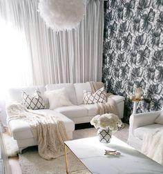 Eleganttia ilmettä sisustukseen tekstuureilla ja tekstiileillä.