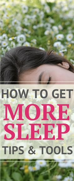 Tired all the time?   How to Get More Sleep - Tips & Tools for a Better Night's Sleep   Being tired all the time is no joke. These easy tips and tools will help you sleep better. Perfect for sleep deprived and exhausted parents!