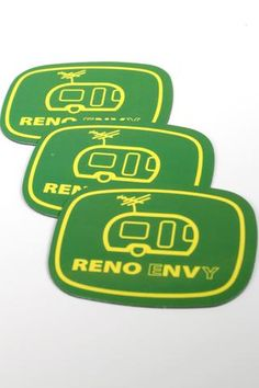 Reno eNVy trailer sticker