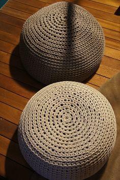 Receitas de Crochet: Croche para sentar Mais