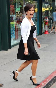 Kris Jenner looking flawless even on the go.